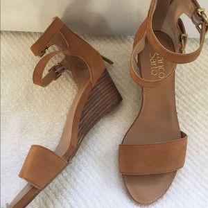 Franco Sarto Brown Sandals
